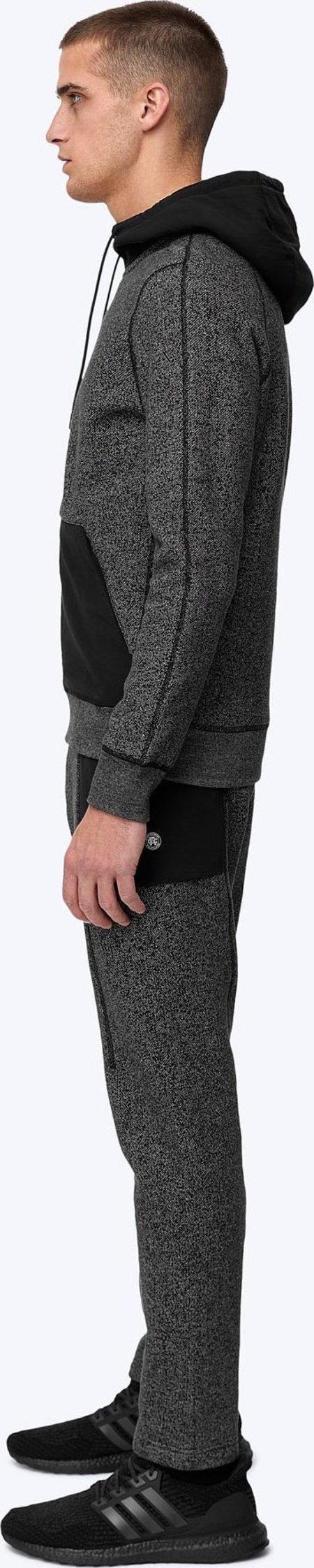 Reigning Champ tiger fleece hoodie - black
