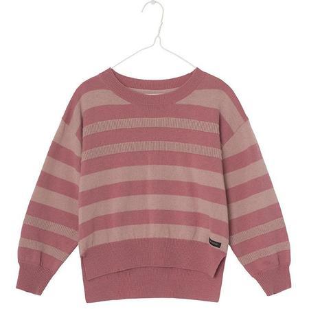 Kids kodomo a monday in copenhagen bibi blouse - dusty cedar stripe