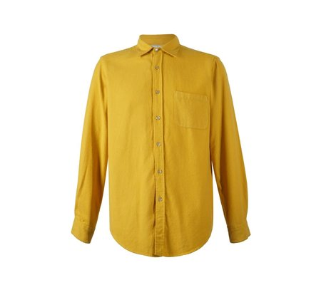 Teca Flannel Shirt | Mustard