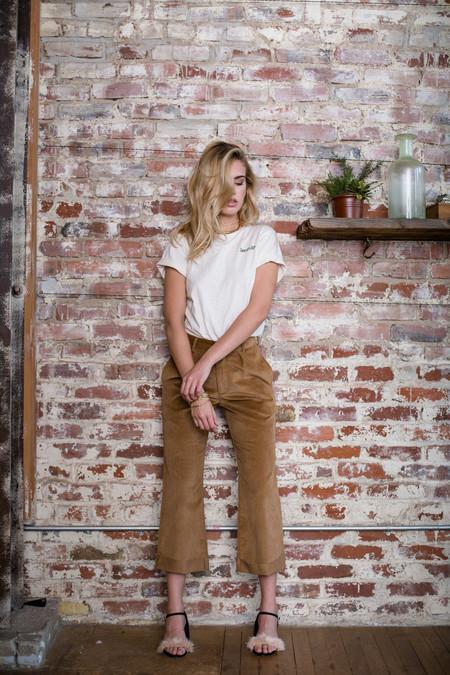BETWEEN TEN Manhattan Trouser - Brown Corduroy