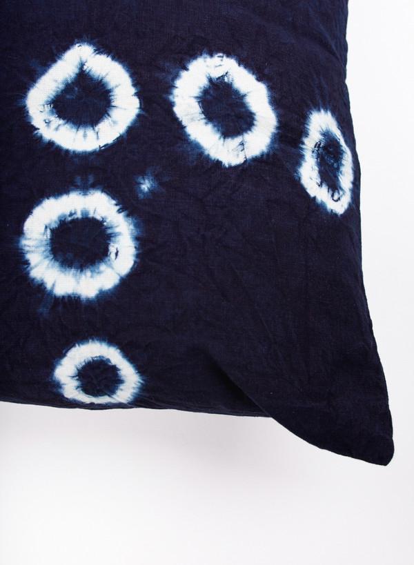 MAPLE Indigo Dyed Cushion Pattern C