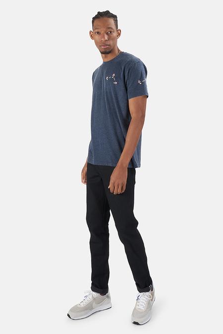 Kinetix x Blue&Cream Mini Mushroom T-Shirt - Navy