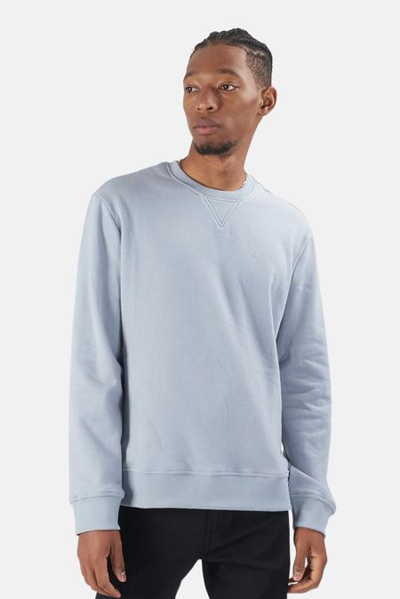 Wheelers.V Mont Blanc Crewneck Sweater - Patina Blue