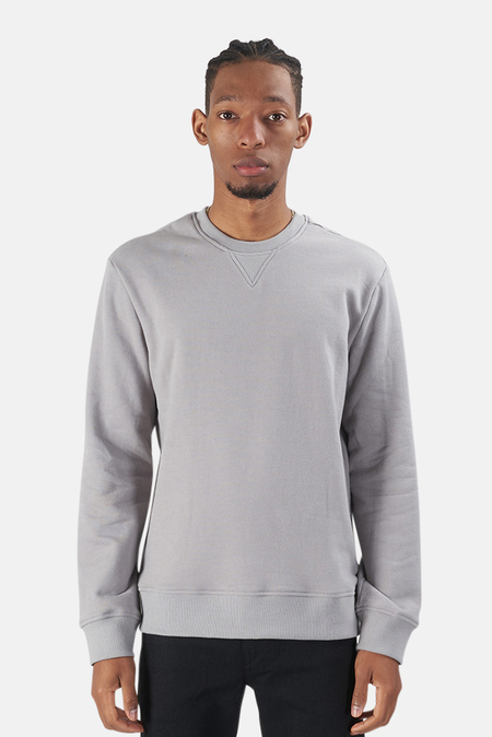 Wheelers.V Mont Blanc Crewneck Sweater - Stone