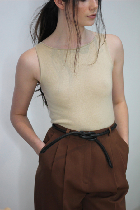 Hey Jude Vintage Cashmere and Silk Top