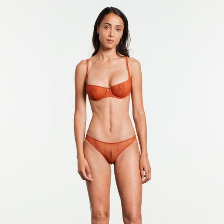 Yasmine Eslami Joanne Panty Mini Brief - Pumpkin