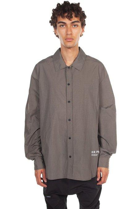 Tobias Birk Nielsen Printed Technical Shirt - Grey/Green