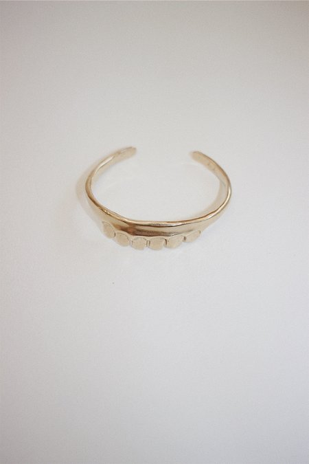 Yu Yu Shiratori Top Jaw Bracelet - Brass