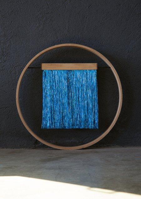 JULIE THÉVENOT SIXZERO ELECTRIC METALLIC WALL HANGING - BLUE