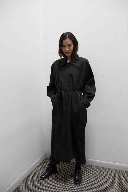 JOWA. Table Short Sleeve Cotton Trench Coat