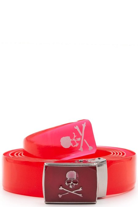 Mastermind World Logo Vinyl Belt - Red