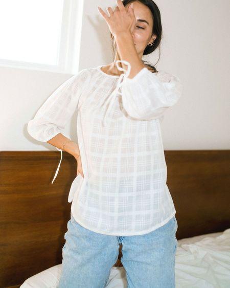 Kat Seaton The Shirt - Windowpane