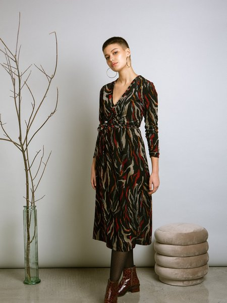Marigold Lona Dona Wrap Dress - Amari Print