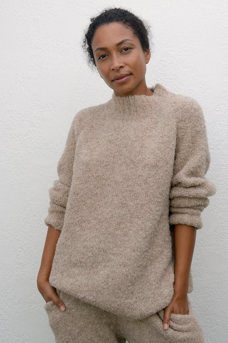 Wol Hide Lounge Pullover - Sand