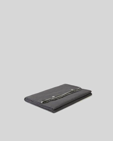 Sunday Morning Marcel Linen Duvet Cover - Storm Stripe