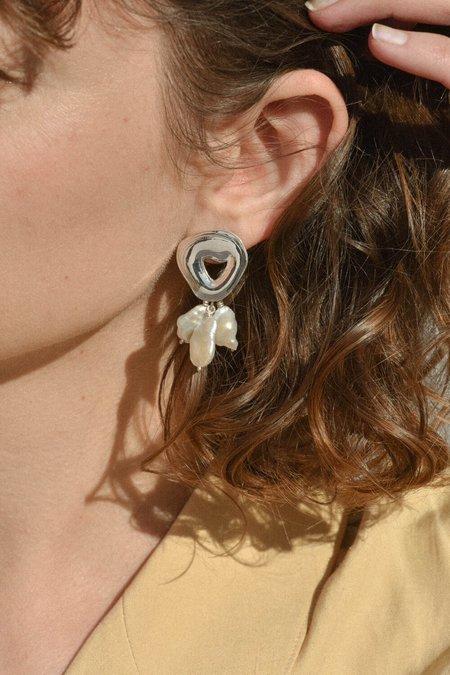 Leigh Miller Jewelry Castanet Earrings - Sterling Silver