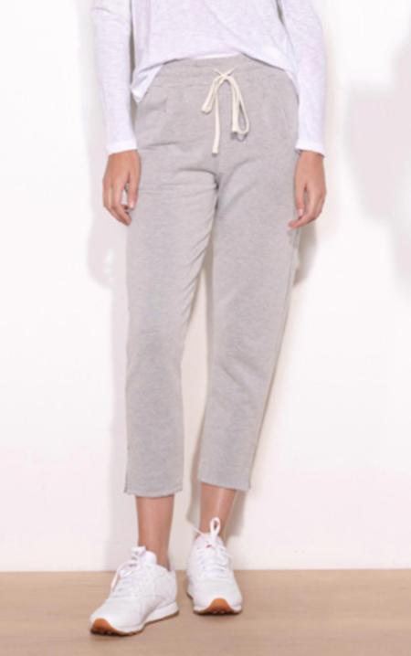 Sundry Pleated Trouser Sweatpant - Heather Grey
