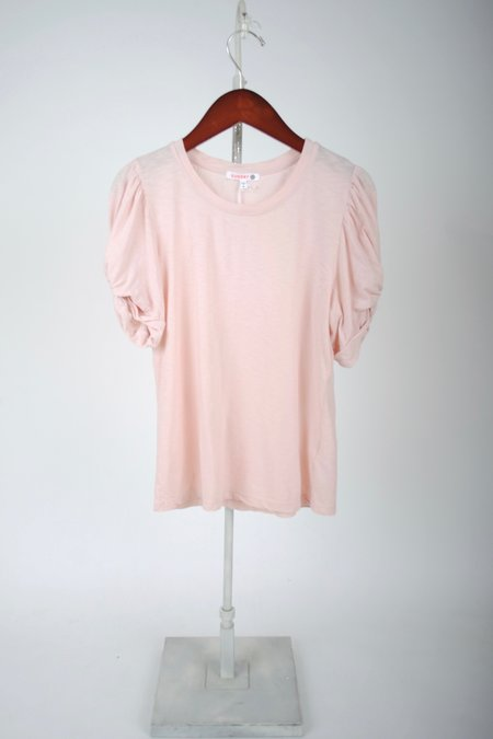 Sundry Short Sleeve Puff Top - Rosebud