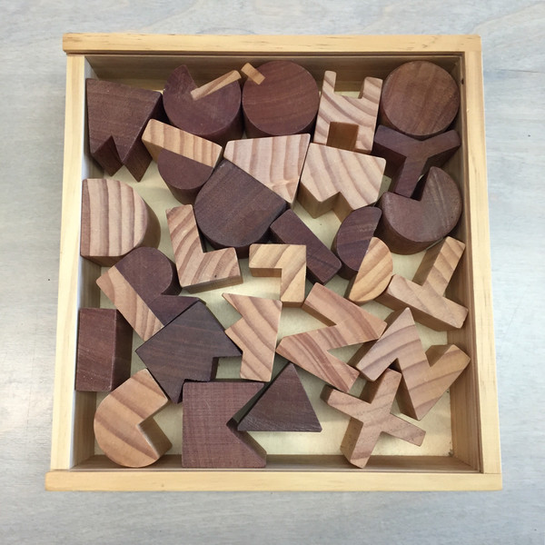 Areaware Alphabet Block Set