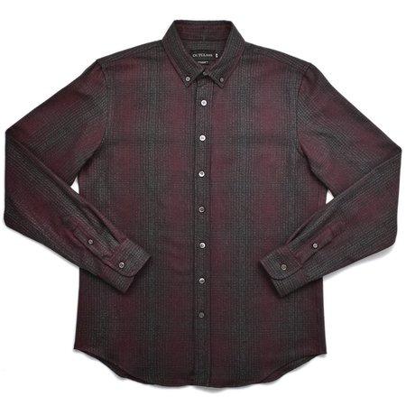 Outclass Maroon Flannel Shirt - Shadow Plaid
