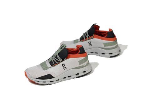 On Shoes Cloudnova Men 26.99819 sneakers - Silver/Orange