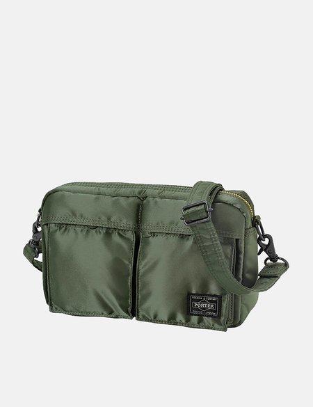 Porter Yoshida & Co Tanker Shoulder Bag - Sage Green