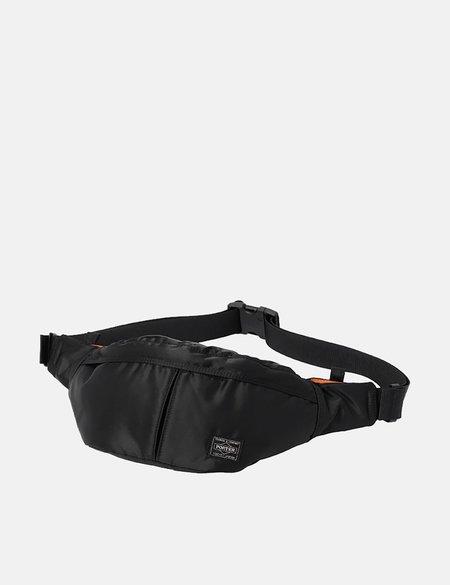 Porter Yoshida & Co Tanker Waist Bag - Black