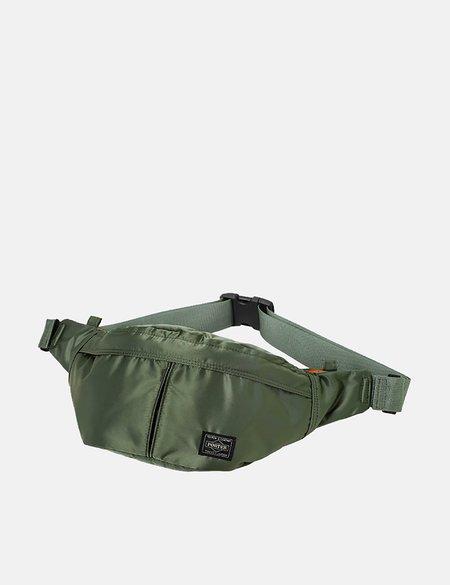 Porter Yoshida & Co Tanker Waist Bag - Sage Green