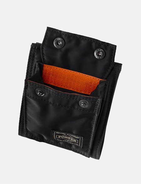 Porter Yoshida & Co Tanker Wallet - Black