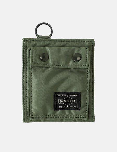 Porter Yoshida & Co Tanker Wallet - Sage Green