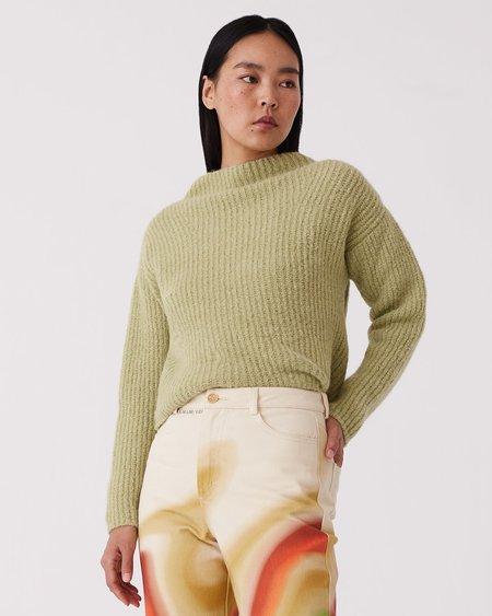 Paloma Wool Monfort Turtleneck Sweater - Kiwi Green