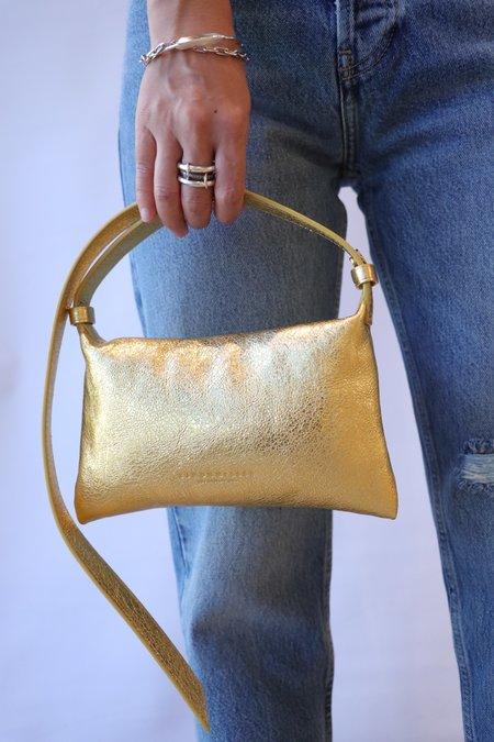Simon Miller Mini Puffin Bag - Gold