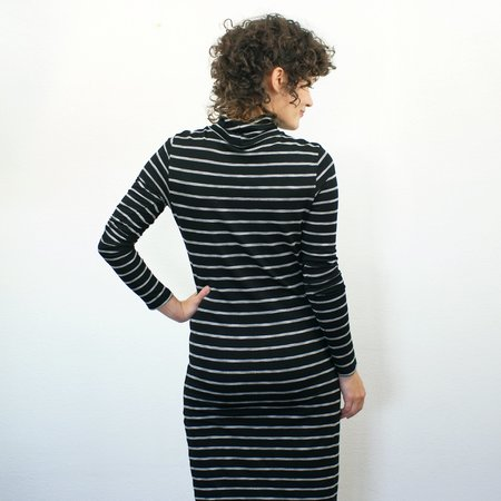 COKLUCH Corvus Tunic - Black Stripe