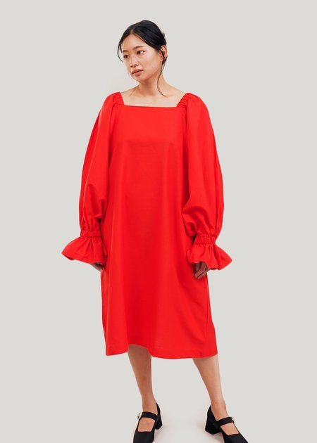323 Selena Dress - Cherry