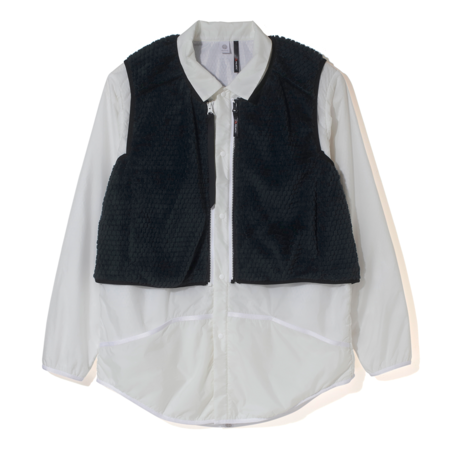 Alk Phenix Convex Liner Shirt + Convex Vest  - White