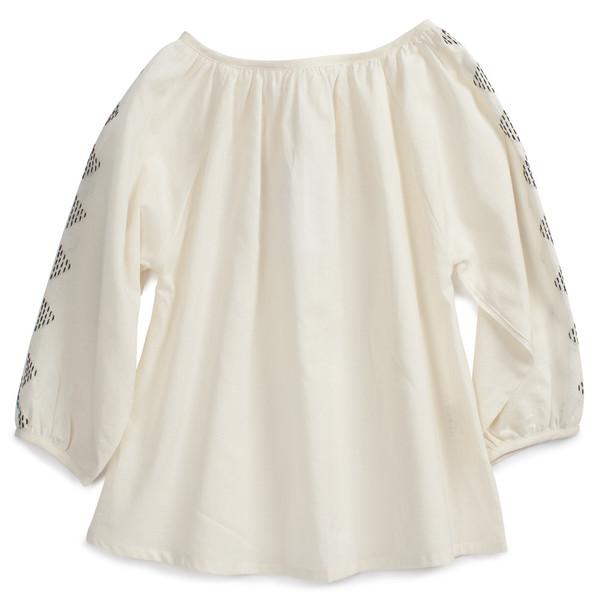 Ketiketa Almendra Blouse Soft White