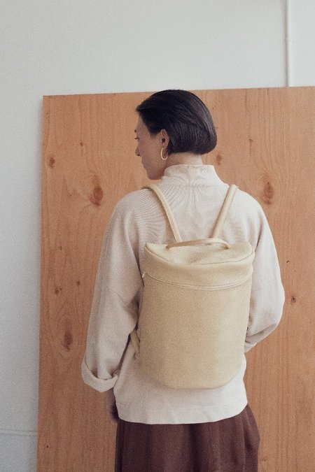 Hannah Emile Curve Pack Backpack - Butter Leather