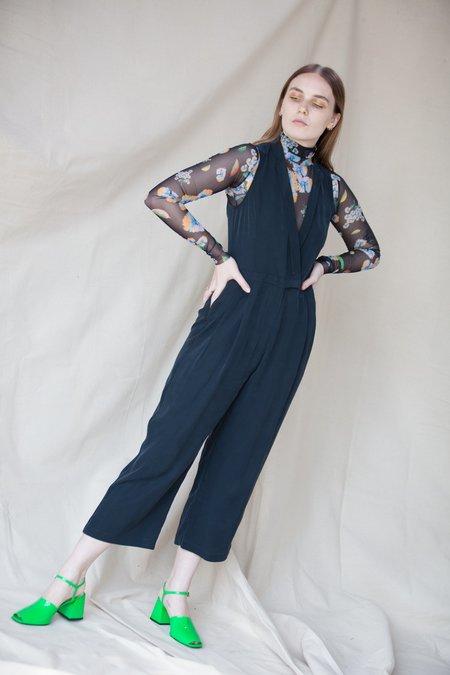 Combine de Filles Le Persephone Jumpsuit - Noir