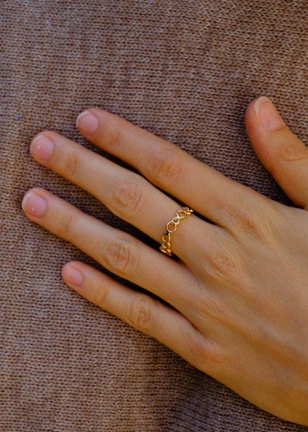 Moran Martine Mini Bubble Ring - 14k Gold