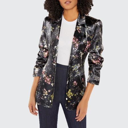 Cinq A Sept Soft Kylie Jacket - Black Multi