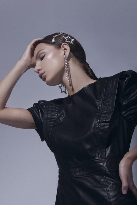 Joomi Lim Crystal Star & Pearl Hair Clip
