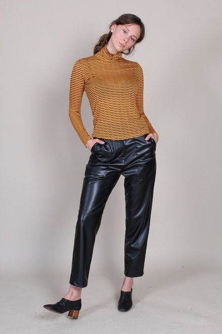 No.6 Scout Turtleneck - Gold/Brown Cassini