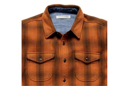 Outerknown Blanket Shirt - Cedar Lobos Plaid