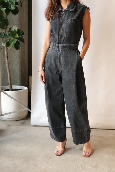 Rachel Comey Annin Jumpsuit - Washed Black