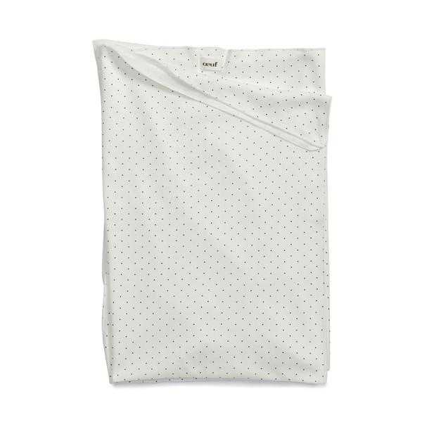 Oeuf Blanket Indigo Dot
