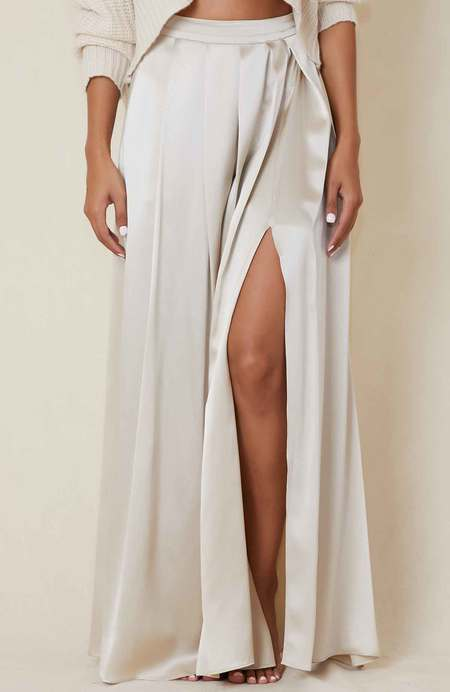 SABLYN Luca Silk Skirt