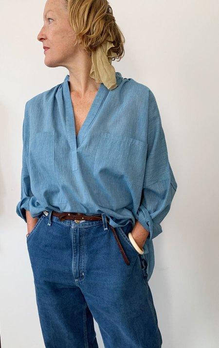 Two Long Sleeve Shirt - Chambray