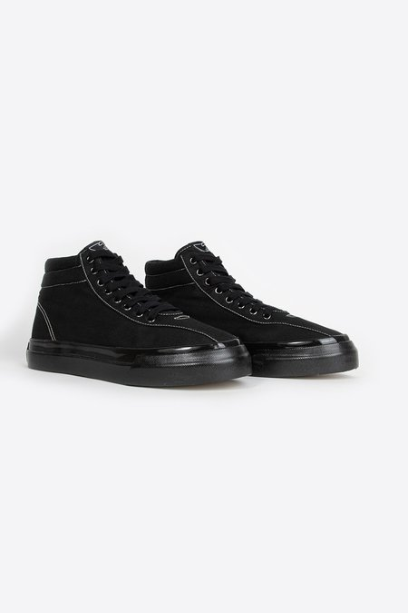 Unisex Stepney Workers Club Varden Canvas Sneaker - Black/Black