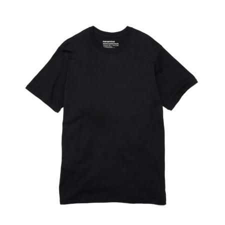 nanamica Loopwheel COOLMAX Jersey T Shirt - Black
