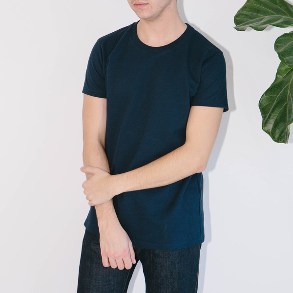 Basic Rights Heavy Weight T-Shirt, Navy